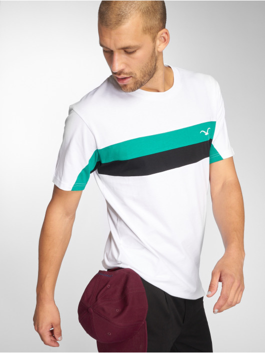 Cleptomanicx T-Shirt Faster weiß