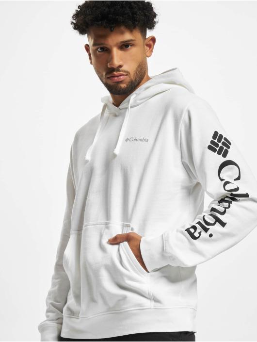 Columbia Sweat capuche Viewmont™ Sleeve Graphic blanc
