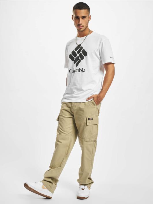 Columbia T-Shirt Trek™ Logo blanc