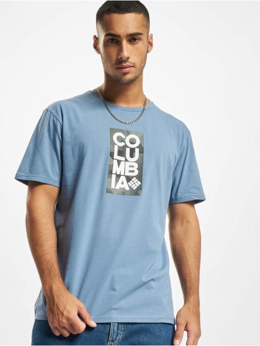 Columbia T-Shirt Trek™ Logo blau