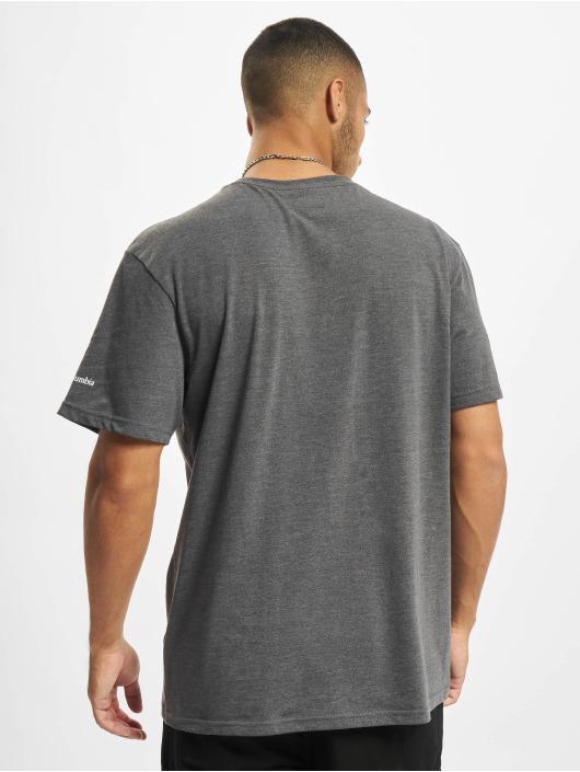 Columbia T-Shirt Trek™ Logo grau
