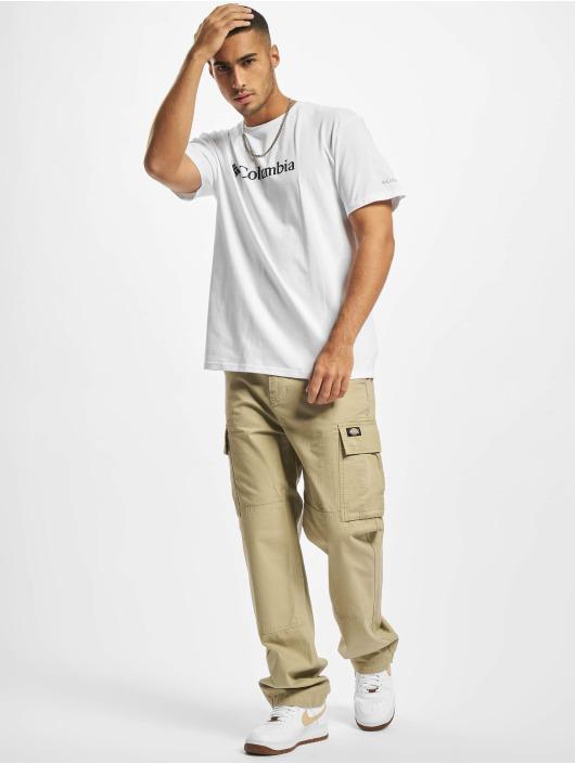 Columbia T-Shirt CSC Basic Logo™ weiß