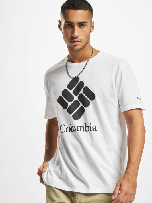 Columbia T-Shirt Trek™ Logo weiß