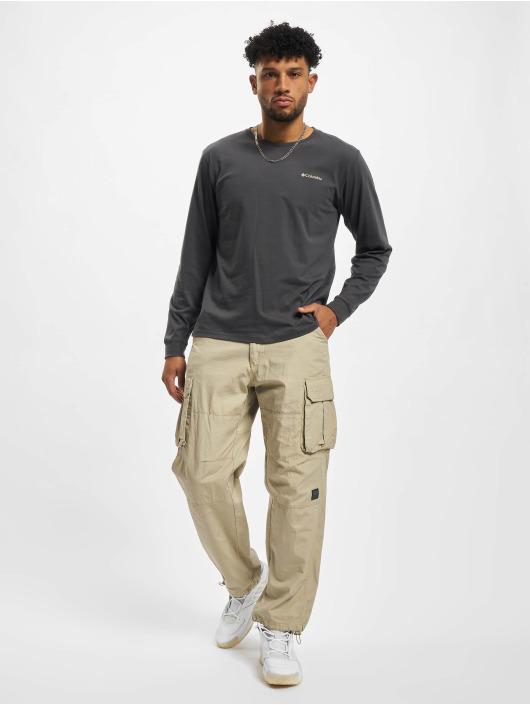 Columbia Tričká dlhý rukáv Pikewood™ Graphic èierna