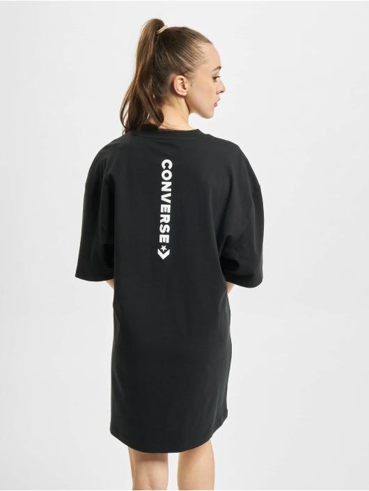 Converse Платья Wordmark Oversized черный