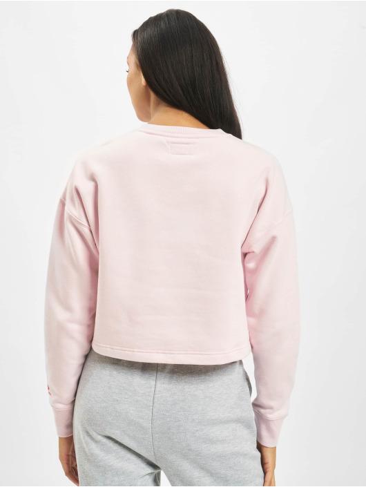 Converse Пуловер All Star Fleece Long розовый