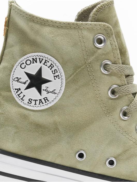 Converse Сникеры Ctas Hi зеленый