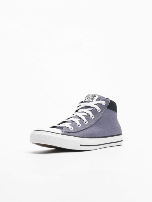 Converse Сникеры Chuck Taylor All Stars Street Mid Light серый