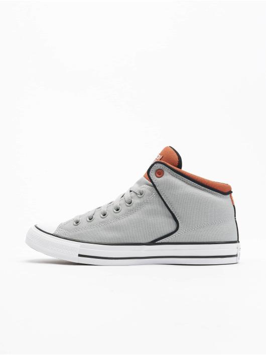 Converse Сникеры Ctas High Street Mid серый