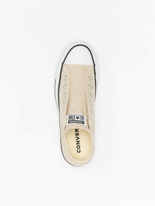 Converse Baskets Chuck Tailor All Star Slip beige