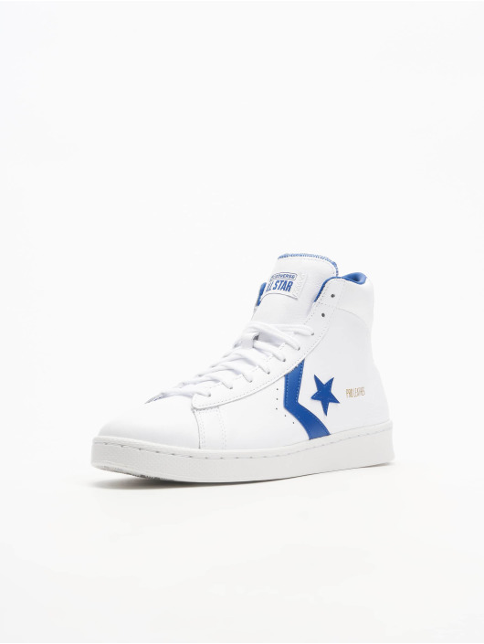 Converse Baskets Pro Leather High blanc