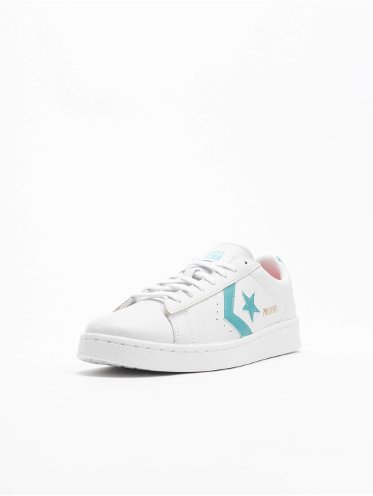 Converse Baskets Pro Leather Ox blanc