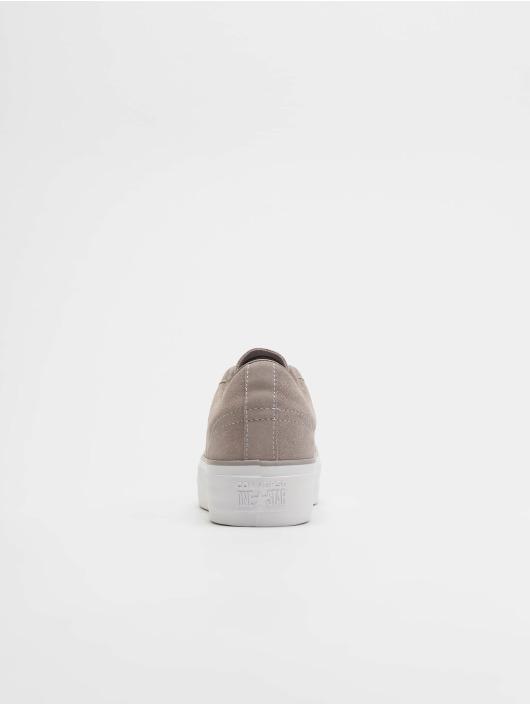 90fab4fec357f Converse Baskets One Star Platform Ox gris