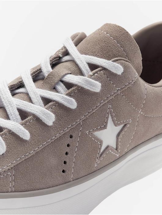 Converse Baskets One Star Platform Ox gris