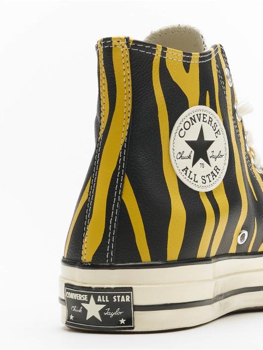 Converse Baskets Chuck 70 Archive Print Leather jaune