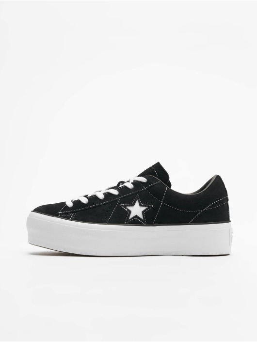 b33c7a063b631 Converse Baskets One Star Platform Ox noir