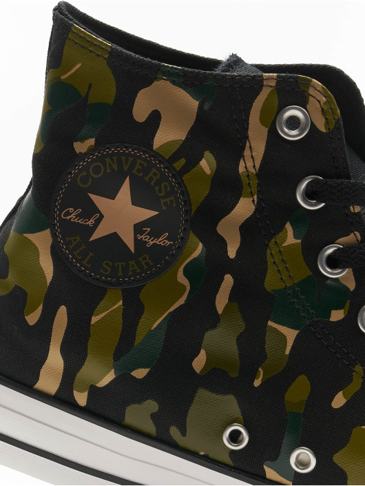 Converse Baskets Chuck Taylor All Star Wordmark And Camo Print noir