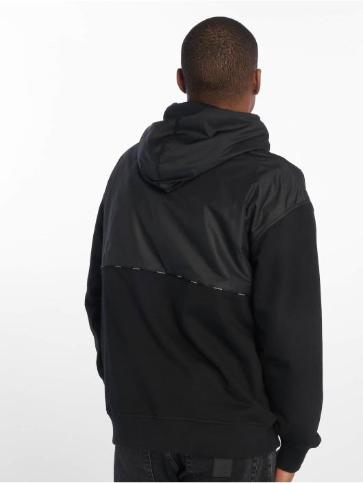 Converse Bluzy z kapturem Star Chevron Front Pocket czarny