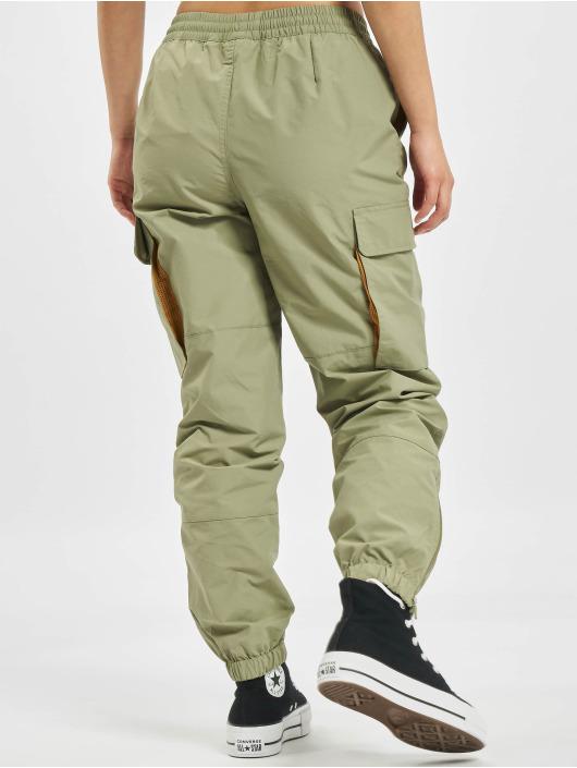 Converse Cargo pants Woven Cargo zelený