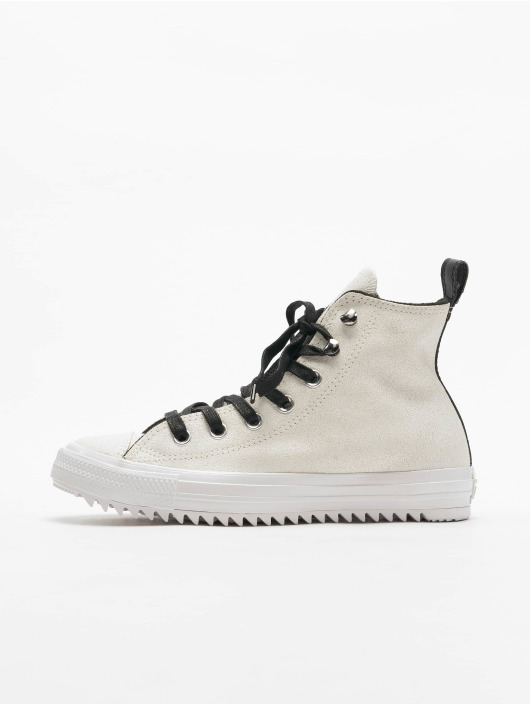 Converse Chaussures montantes Chuck Taylor All Star Hiker Waxed Suede blanc