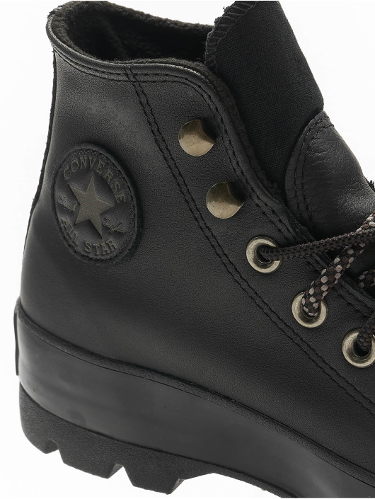 Converse Chaussures montantes Chuck Taylor All Star Lugged Winter noir