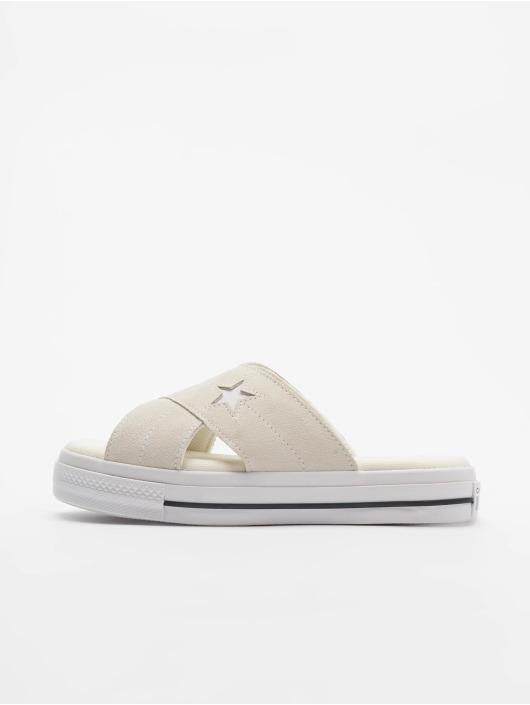 Converse Claquettes & Sandales One Star Slip beige
