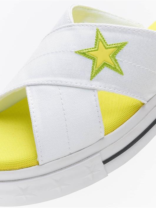 Converse Claquettes & Sandales One Star Slip blanc