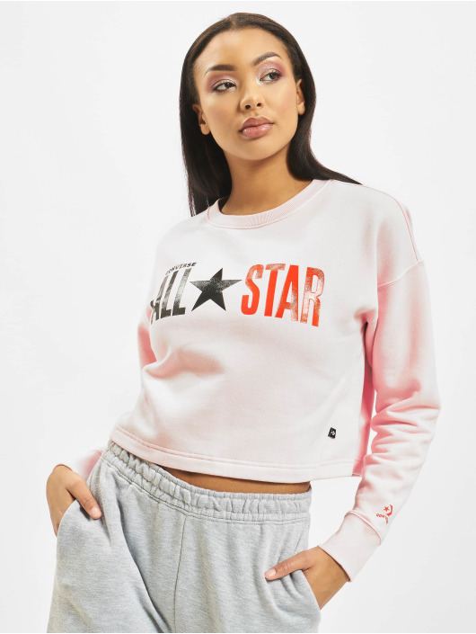 Converse Gensre All Star Fleece Long rosa