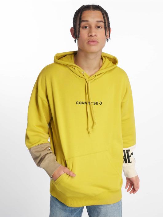 Converse Hoody One Star Block Pack gelb