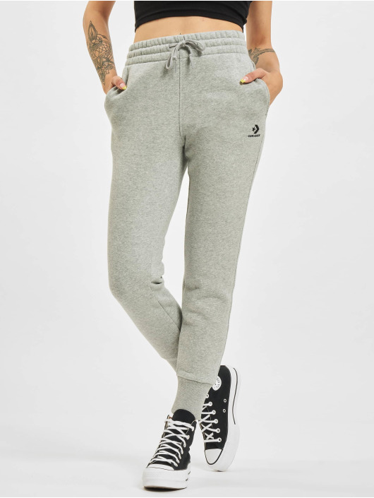 Converse joggingbroek Embroidered Star Chevr grijs