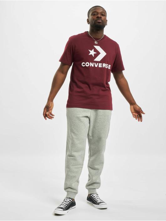 Converse Jogginghose Embroidered SC grau