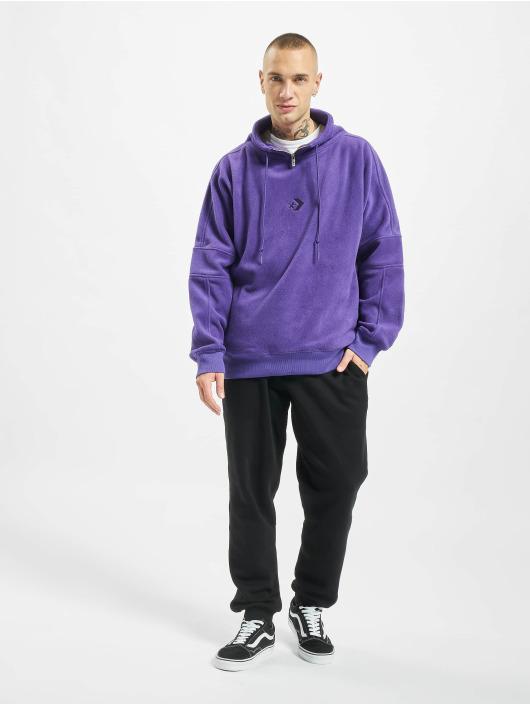 Converse Jumper Polar Fleece Archive purple