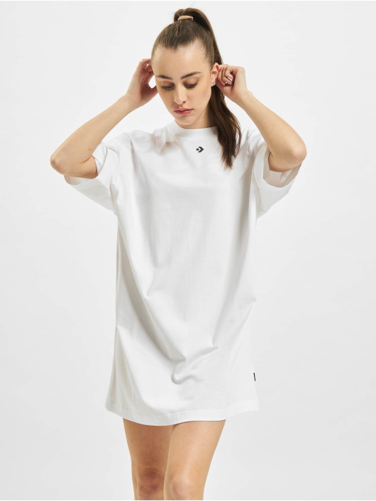 Converse Kleid Wordmark Oversized weiß