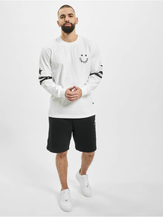 Converse Longsleeves Twisted Varsity Cut & Sew bialy