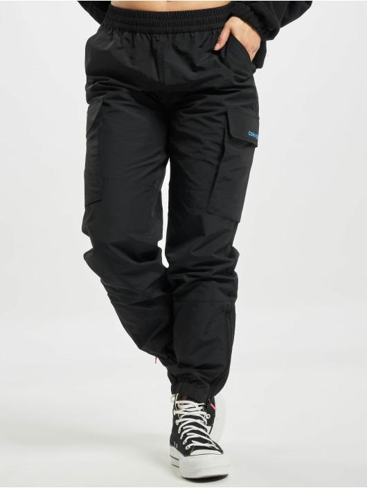 Converse Pantalon cargo Woven Cargo noir