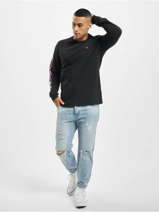 Converse Pitkähihaiset paidat Fold Out musta