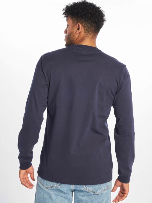 Converse Pitkähihaiset paidat Wordmark sininen
