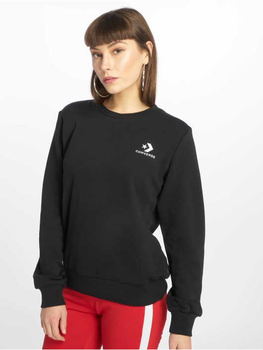Converse Pullover Star Chevron Embroided schwarz