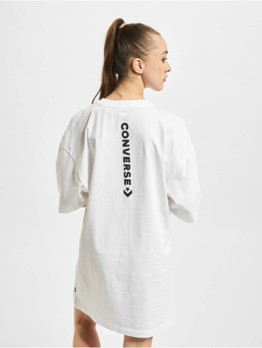 Converse Robe Wordmark Oversized blanc