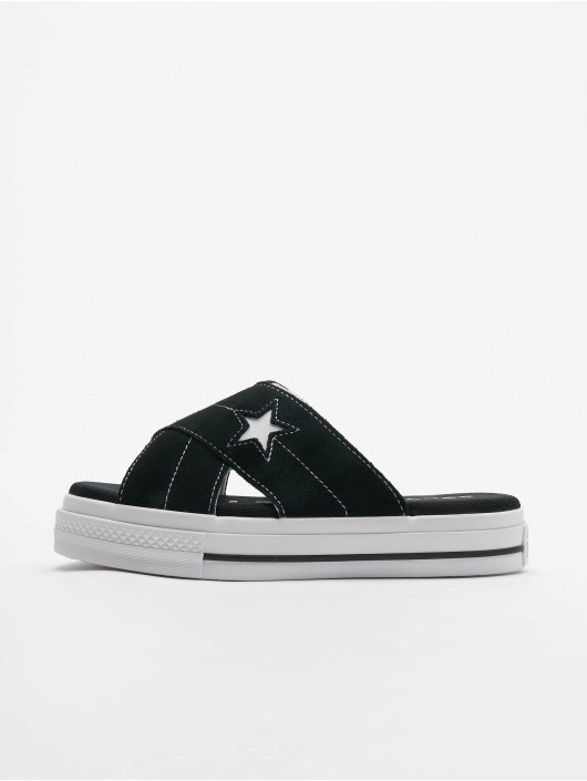 Converse Sandaalit One Star Slip musta