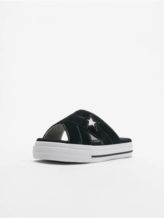 Converse Sandaler One Star Slip svart