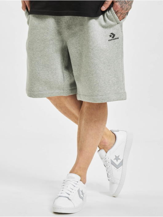 Converse Shorts Embroidered Sc grå