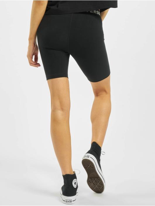 Converse Shorts Legging schwarz