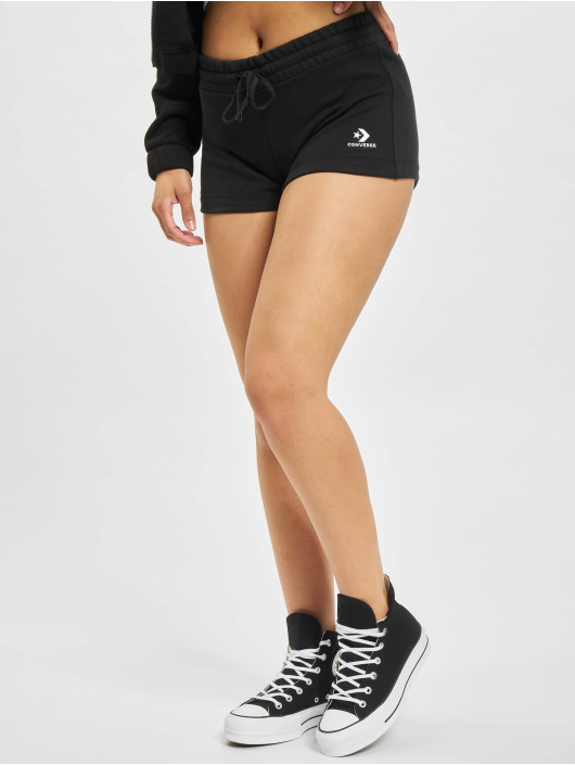 Converse Shorts Embroidered Star Chevron schwarz
