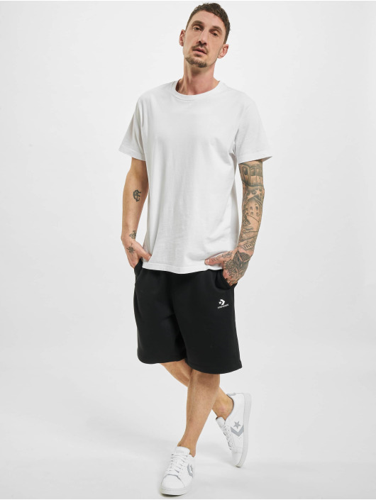 Converse Shorts Embroidered Sc svart