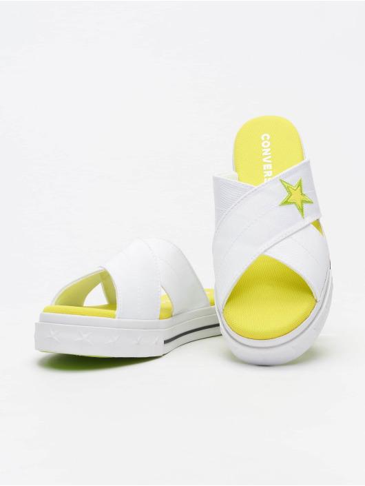 Converse Slipper/Sandaal One Star Slip wit