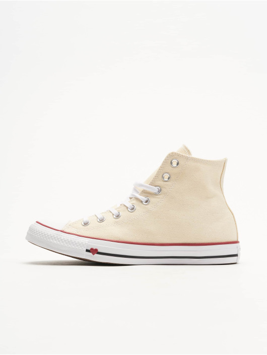 Converse Chuck Taylor All Star Hi Sneakers Natural/White/Garnet