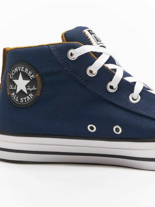 Converse Sneaker Chuck Taylor All Stars Street Mid blu