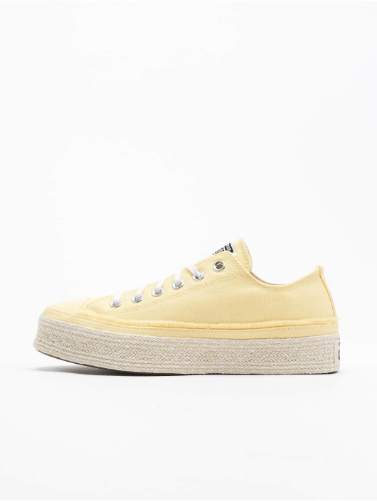 Converse sneaker Ctas Espadrille Ox geel