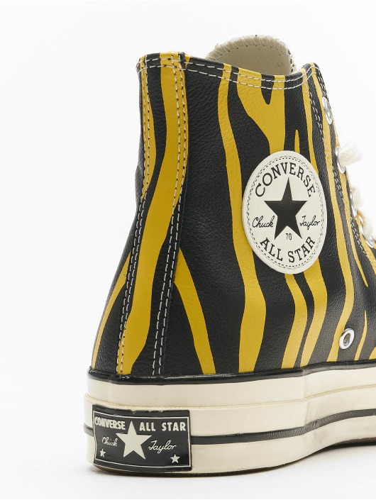 Converse Sneaker Chuck 70 Archive Print Leather gelb